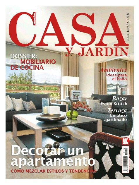 Revistas kiosco el globo casa jard n tu de revista de for Casa jardin revista