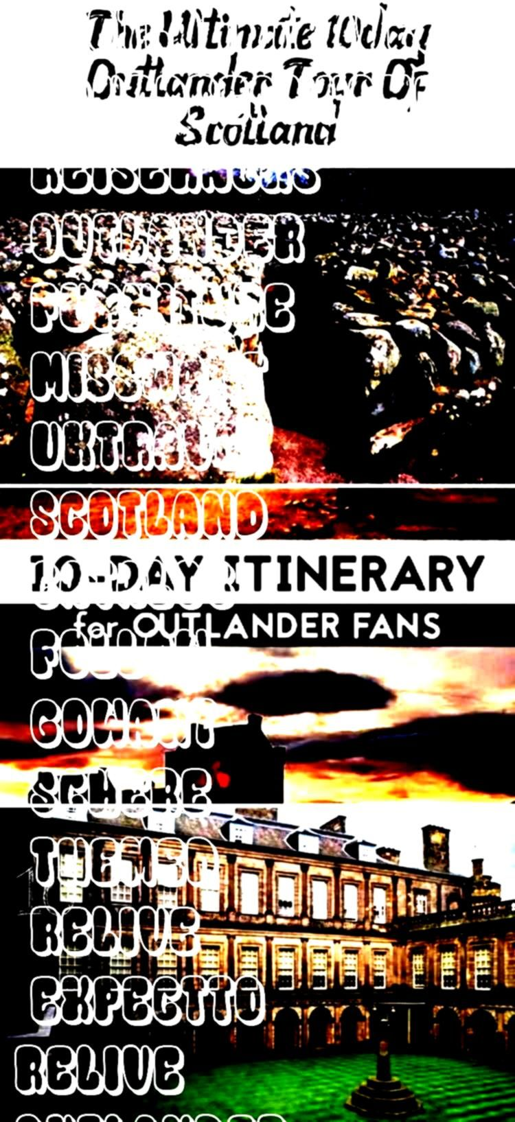 Outlander in real life Then dont miss this epic 10day Outlander themed tour of Scotland Heres what to expect and how to goWant to relive Outlander in real life Then dont...