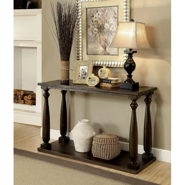 With Traditional Flair To Enhance The Transitional Elements This Sofa Table Is A Great Piece Have Front And Center Welcome Guests Your Ho
