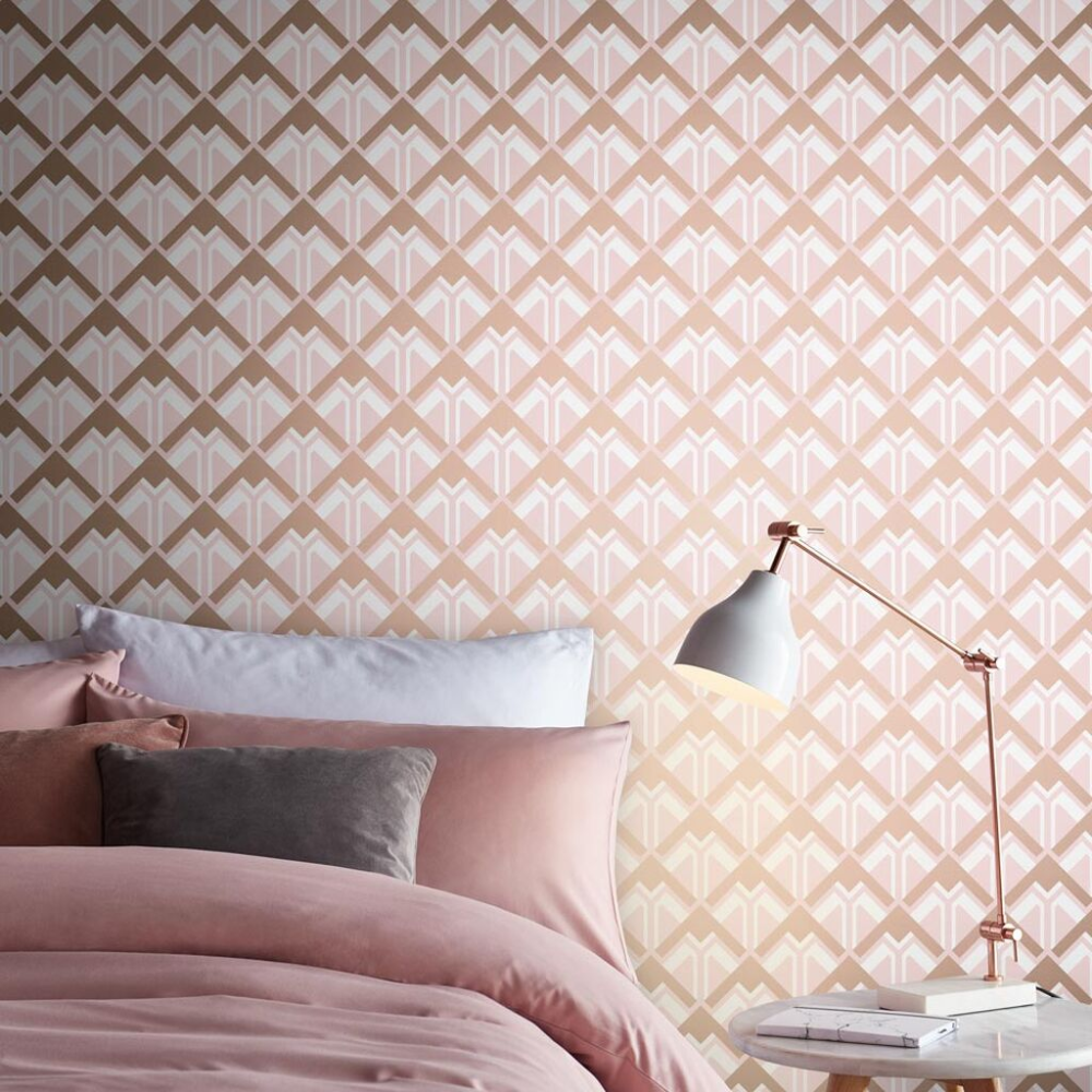 Beau Pink Rose Gold Wallpaper Grahambrownus Gold Wallpaper Rose Gold Wallpaper Wallpaper Bedroom