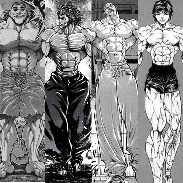 He Is The Beast Himself Baki The Grappler With Images Ogre