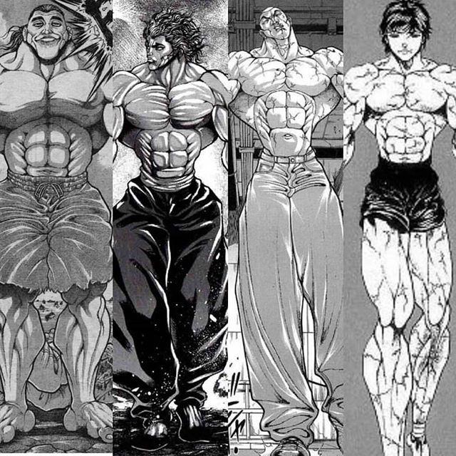 The Hanma Clan Yuichiro Yujiro Jack Baki Hanma Black Nerd Alliance Follow Our Backup The Hanma Clan Yuichiro Manga Art Anime Characters Anime Comics