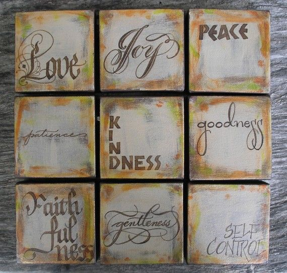 Spiritual Wall Art fruit of the spirit wall artaplacetoflourish on etsy | sewing