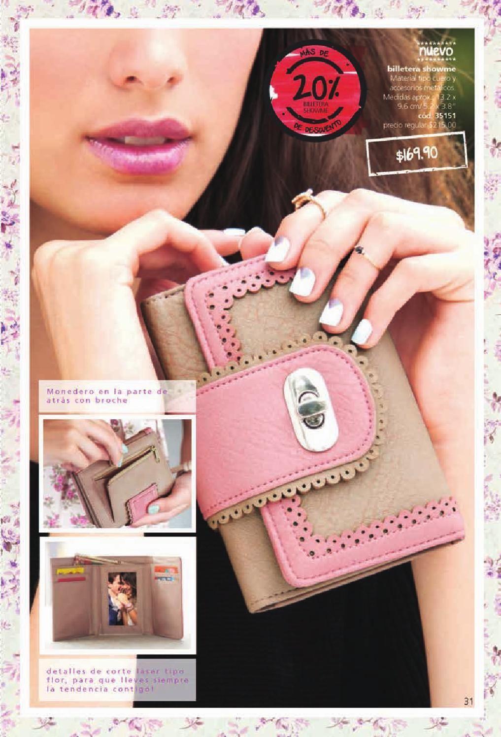 49383dae7 Catálogo Cyzone Mexico C07   Cy*zone   Fashion, Wallet y Card case
