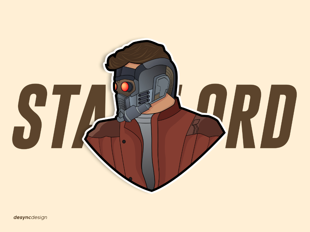 Star Lord Vector Design Star Lord Vector Design Lord