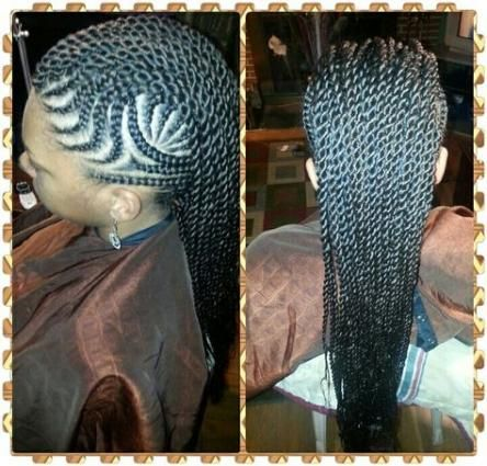 Braids Hairstyles For Black Women Cornrows Mohawks 22+ New Ideas #braidedhairstylesforblackwomen