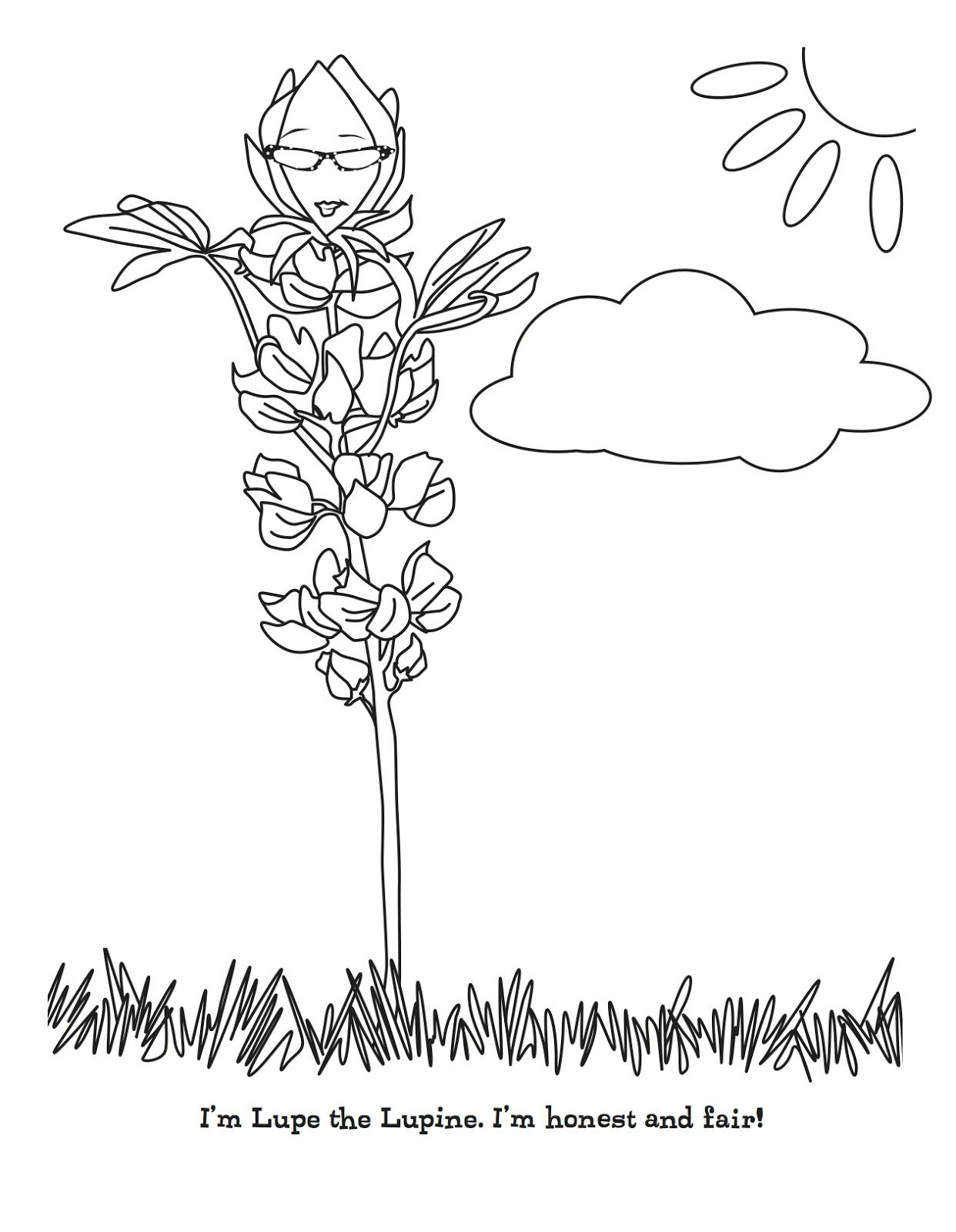 Daisy Honest And Fair Coloring Pages