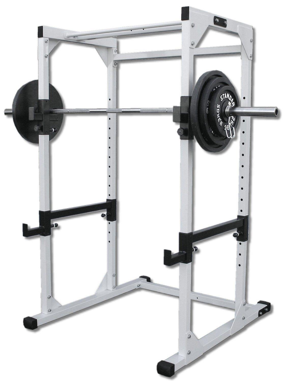 Amazoncom Deltech Fitness Power Rack Squat Rack