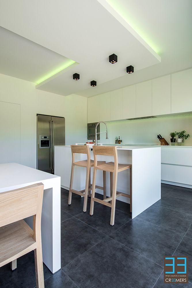 Interieurarchitect Door be Ontwerp Ken Creemerscr33mers Keuken vnPm80wNyO