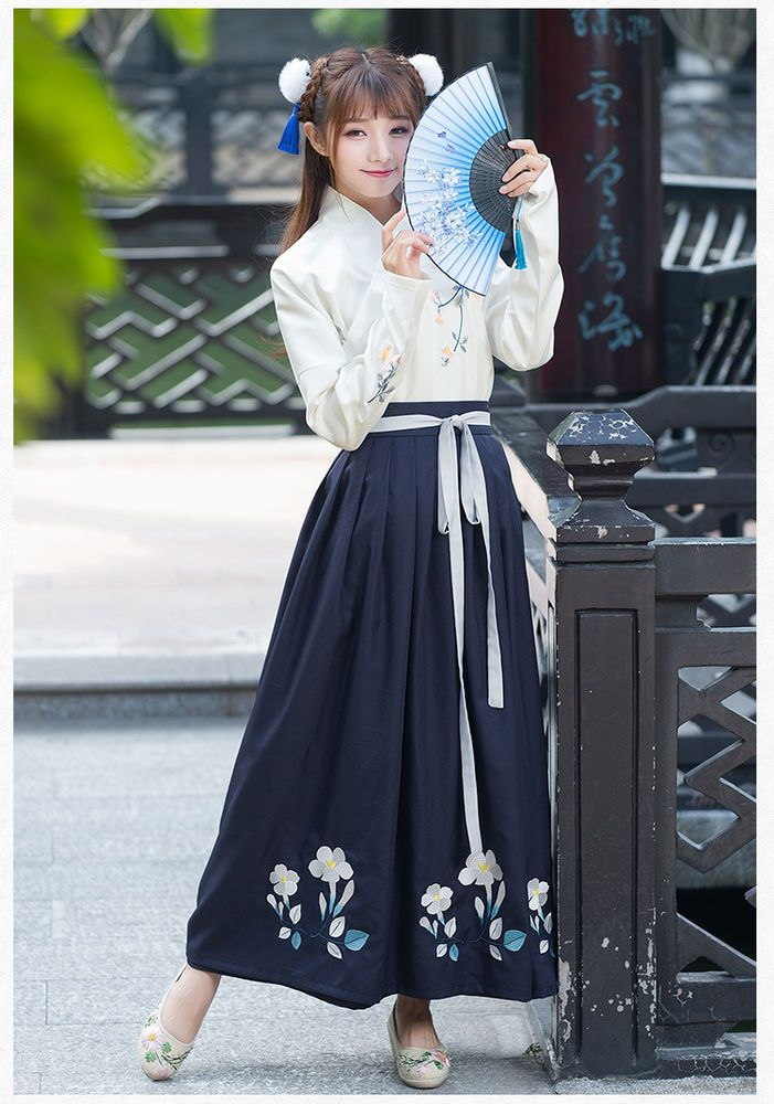 bca2eb7b4 Details about Chinese Ancient Traditional Hanfu Women Fusion Modern ...