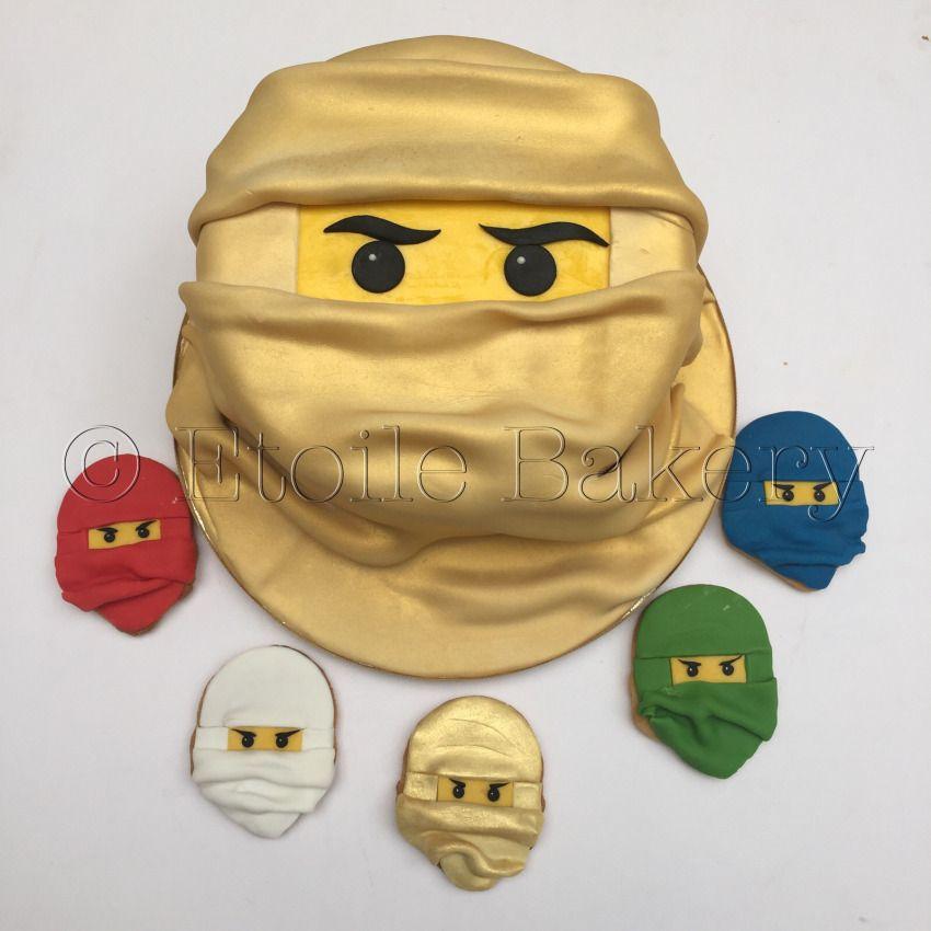 Lego Ninjago Birthday Party Google Search: Golden Ninjago Cake - Google Search