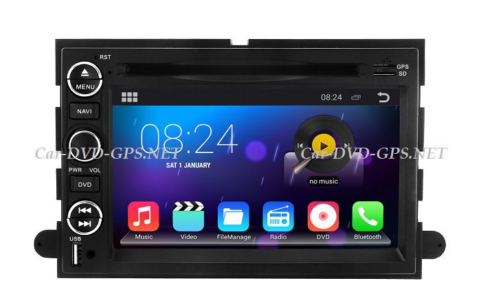 Android Head Unit Car Dvd Player For Ford Fusion Explorer Expedition Mustang With Gps Navigation Radio Bt Tv Dvr 3g Wif Car Dvd Players Gps Navigation Gps