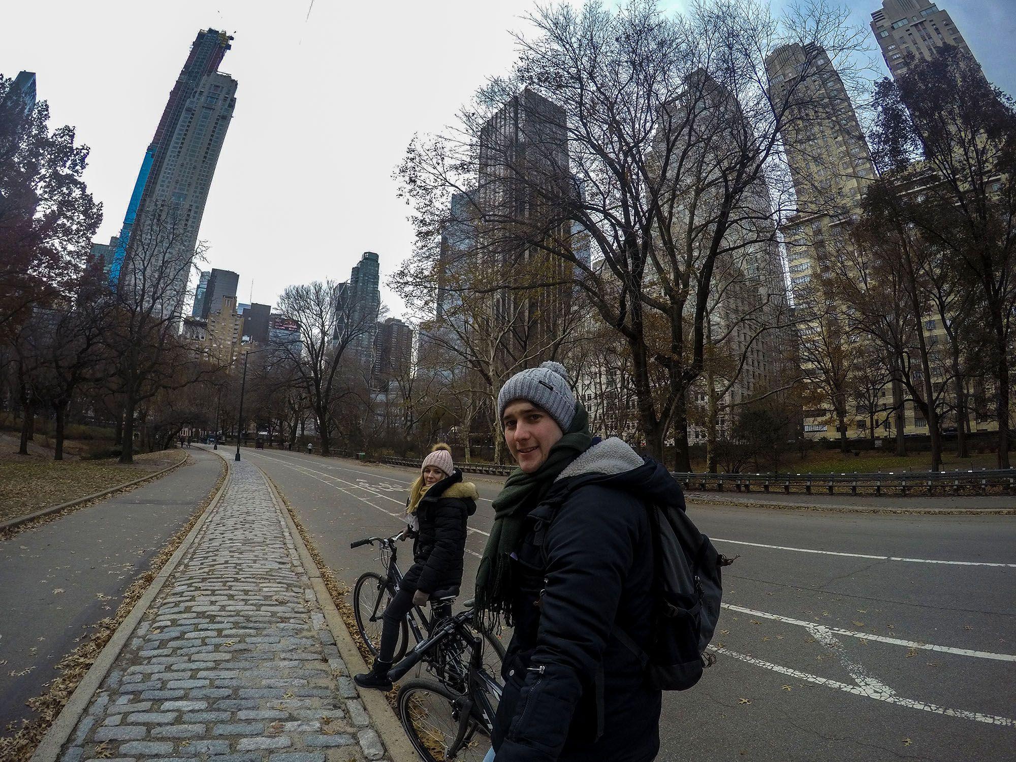 Ruta en bicicleta por Central Park