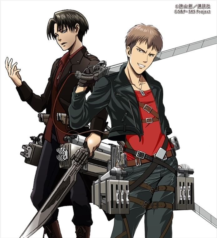 Snk official art. I really like the red In the clothes ...