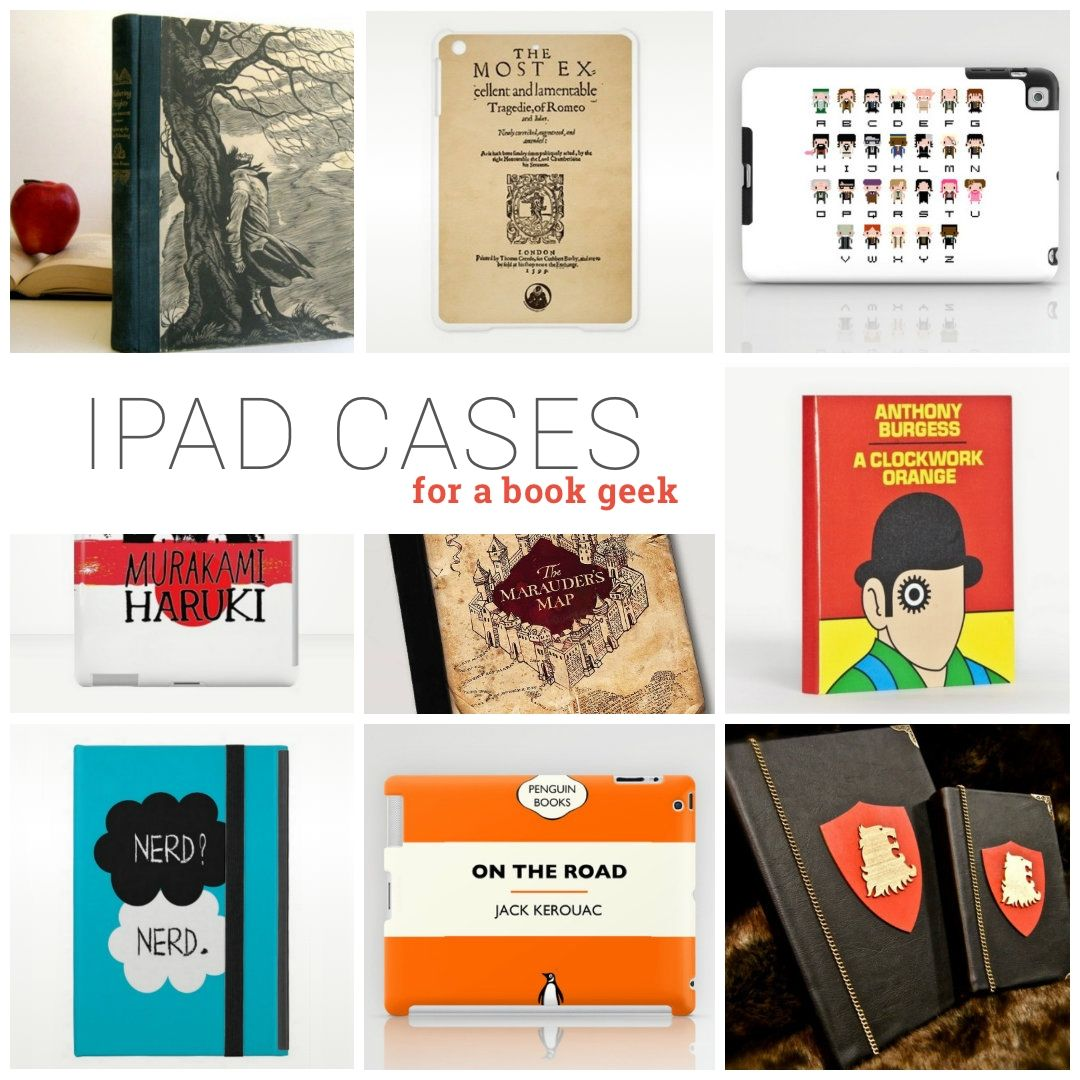 Explore awesome iPad case covers that resemble or remind you of the book you love. Designs from Etsy, Amazon, Zazzle, CafePress, RedBubble, and more.
