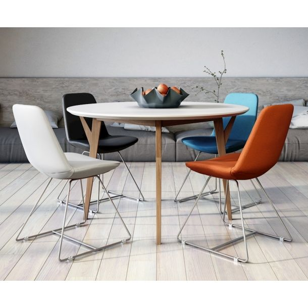 Wellesley Contemporary Dining Table | Memoky.com