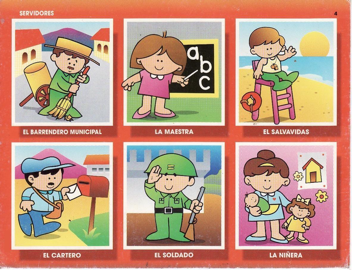 Lotto Oficios 5 Oficios Y Profesiones Profesiones Para Niños Profesiones