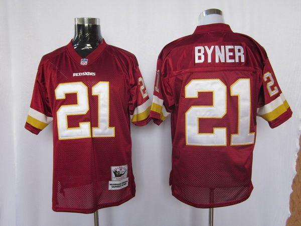 25.00 NFL Jersey Washington Redskins Earnest Byner  21 Red ... ace1c4d6a