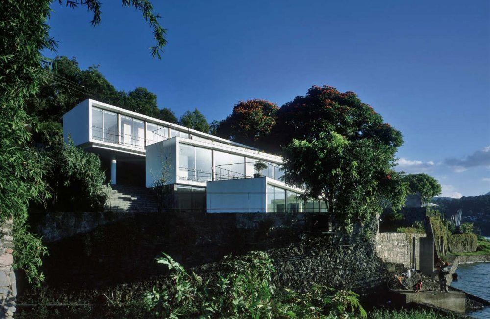 Casas en pendiente google search casas pinterest - Casas en pendiente ...