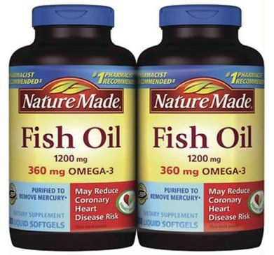 New arrival for Recommended fish oil