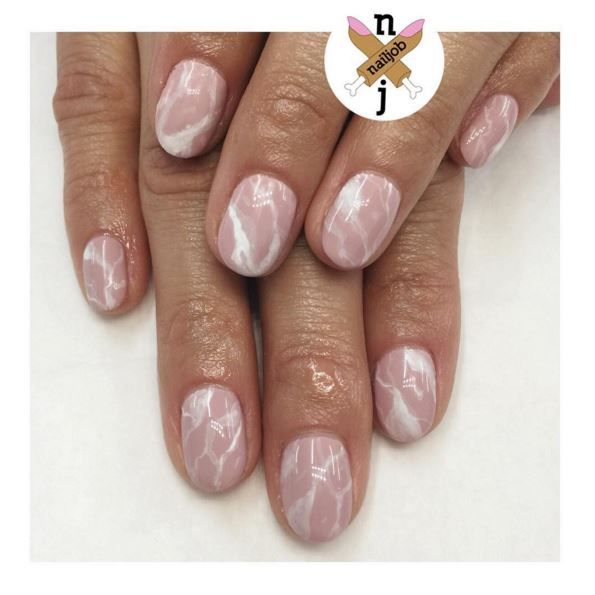 Marble nails are so dreamy: How to create a stone-inspired manicure ...