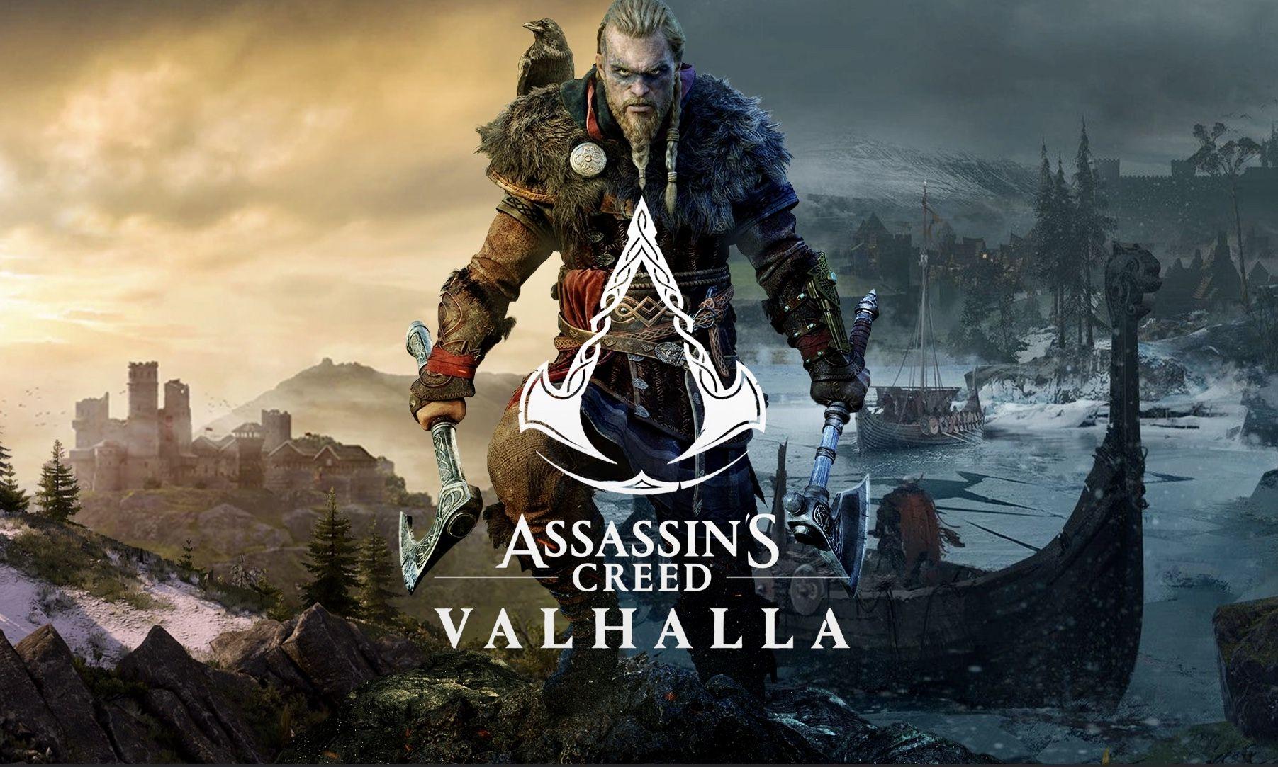 Assassin S Cree Valhalla Valgalla Oboi Wallpaper Na Rabochij Stol Telefon V 4k Full Hd In 2020 Assassin S Creed Valhalla Assassins Creed