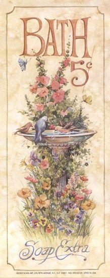 Vintage Bathroom Posters Google Search