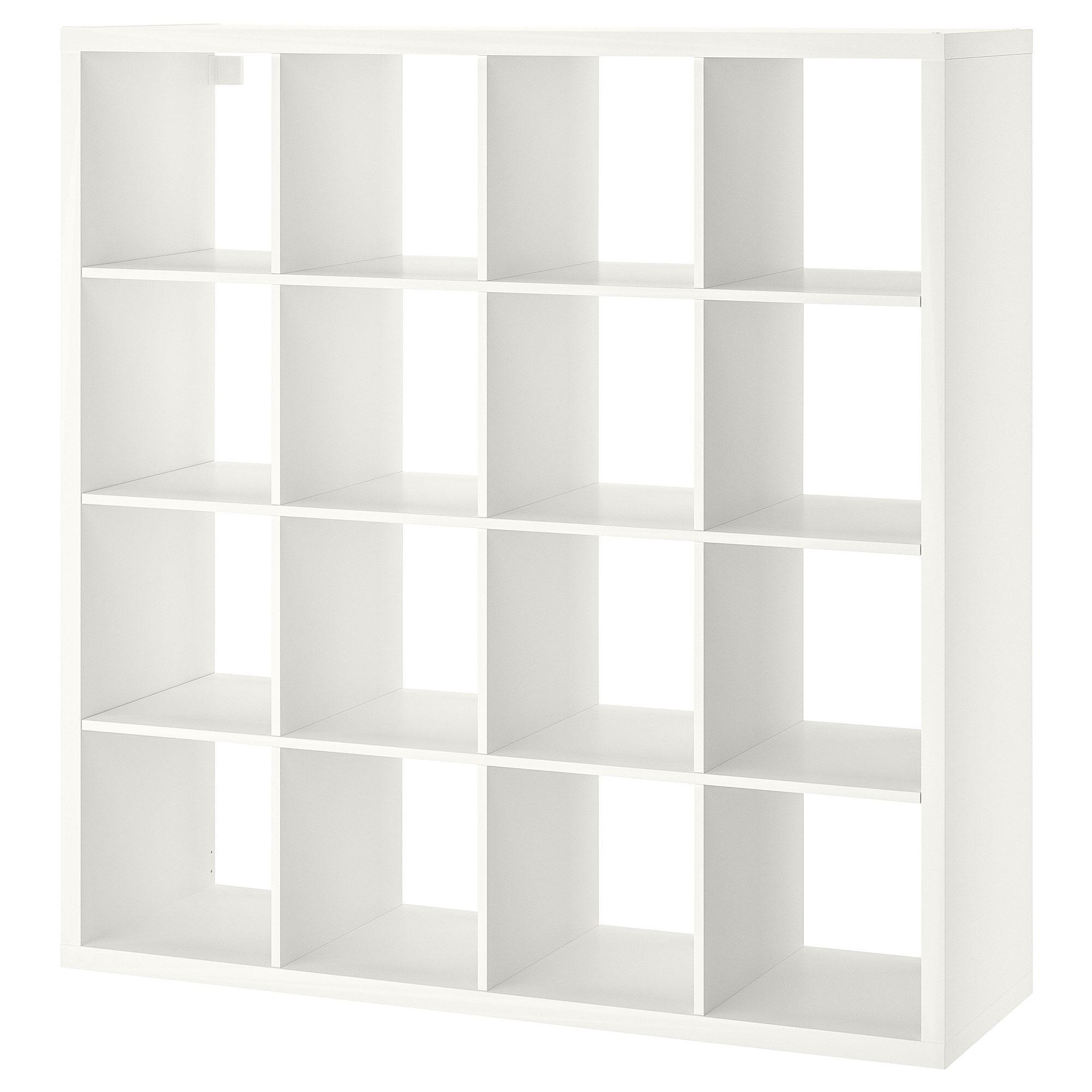 Kallax Shelf Unit White 57 7 8x57 7 8 With Images Ikea