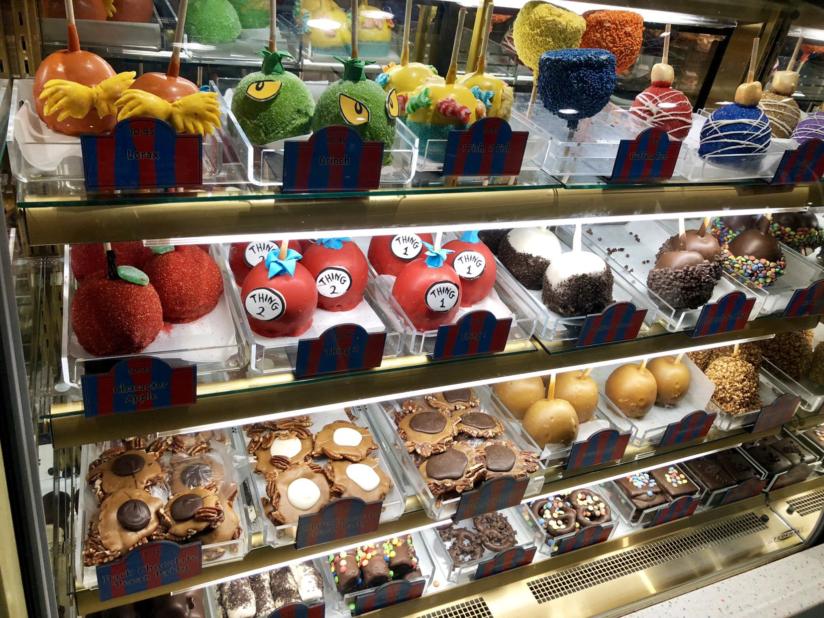 Desserts At Seuss Landing Universal Studios Food Family Disney Trip Seuss