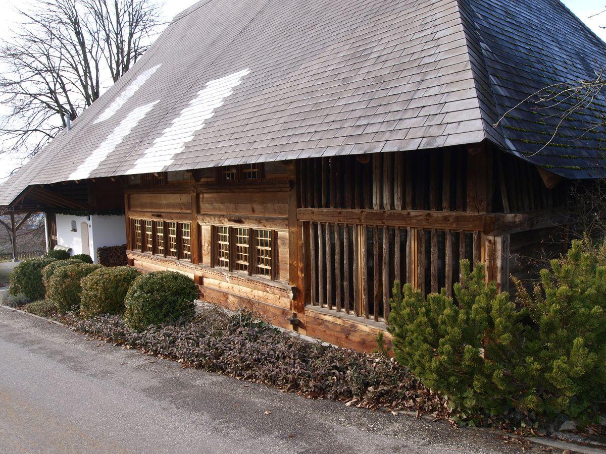 Renoviertes Bauernhaus, Küngoldingen, Schweiz, ©werner