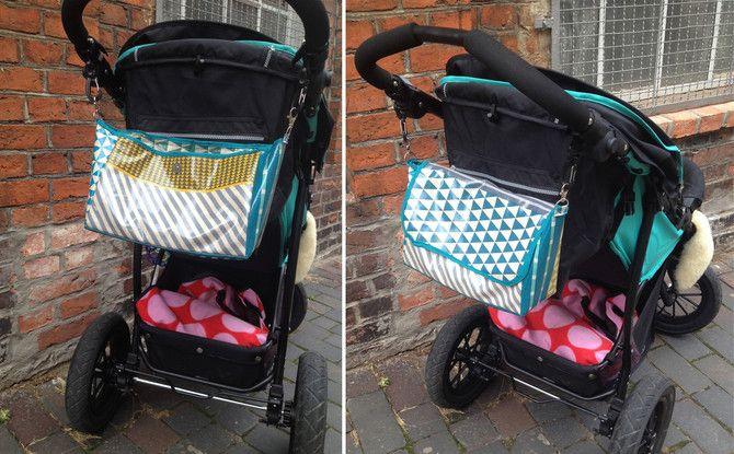 kinderwagen organiser tasche selber n hen anleitung schnittmuster wir selbstgen hte. Black Bedroom Furniture Sets. Home Design Ideas