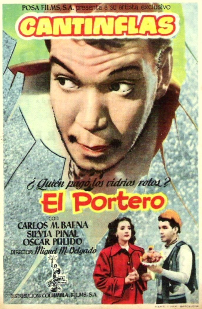 El Portero 1950 Tt0041773 Esp Pps01 Old Film Posters Movie Posters Vintage Movie Posters