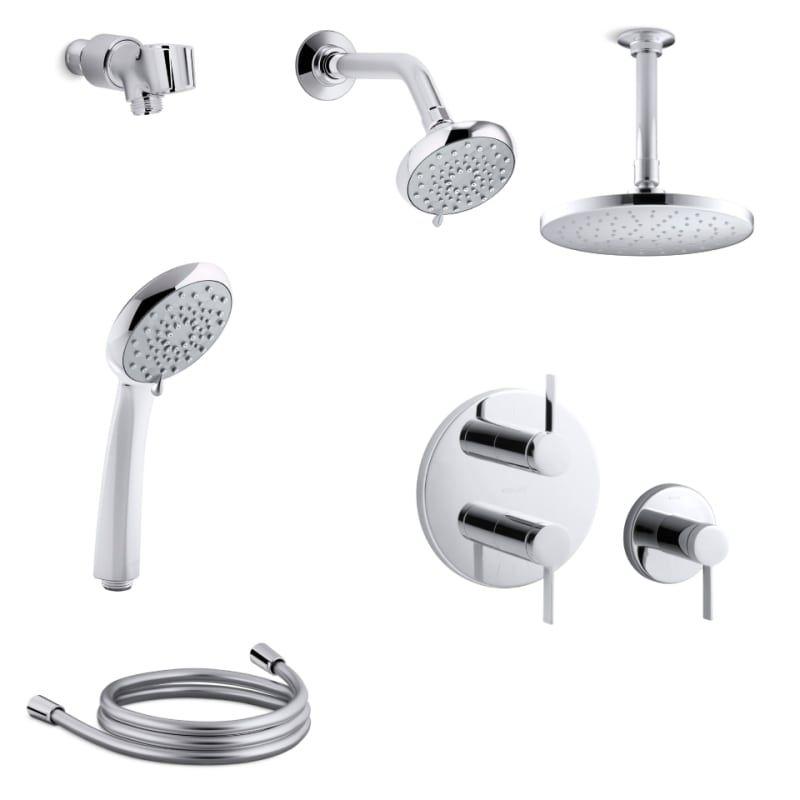 Pin On Bathroom Kohler multi head shower system