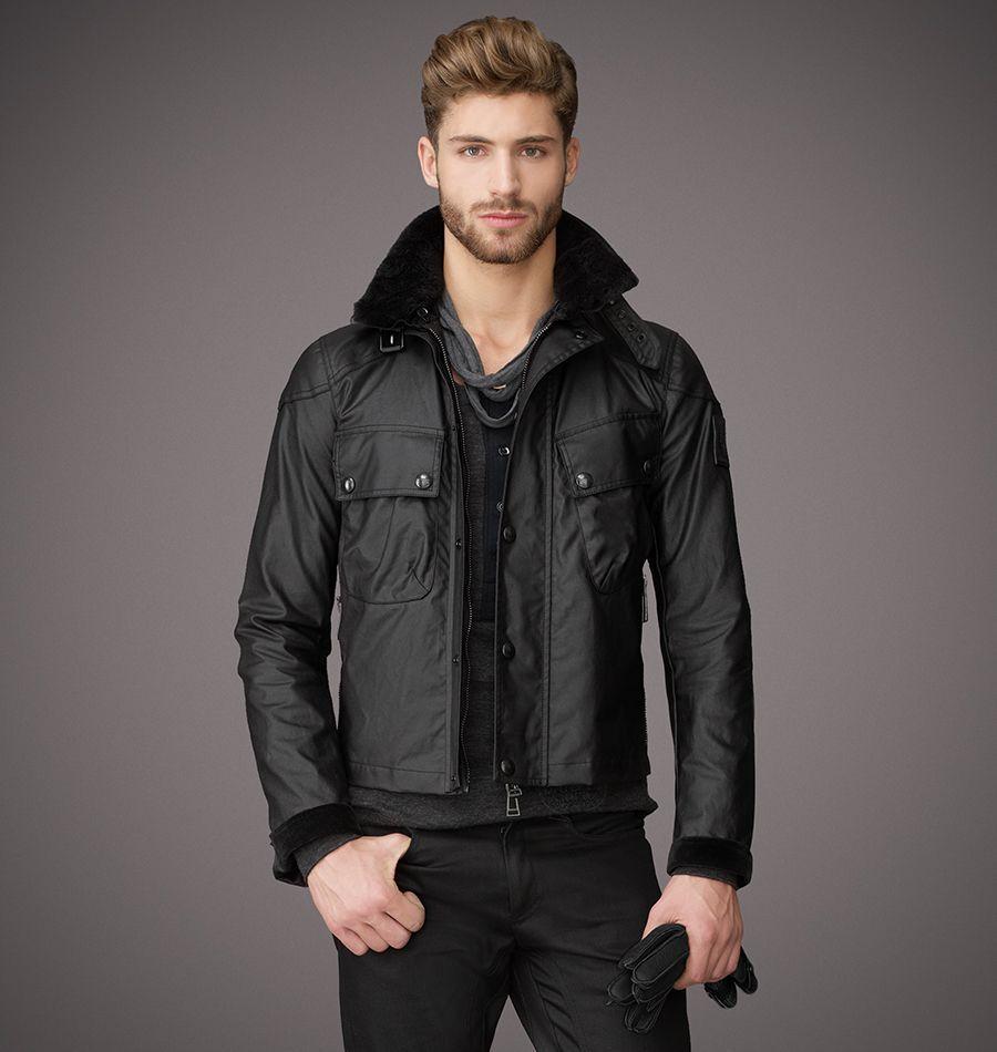 Mens jacket cotton - Belstaff