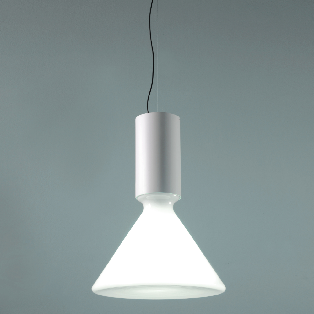 Pin Large Pendant By And Costa S370 Wh In 2020 Glass Diffuser Glass Lamp Large Pendant
