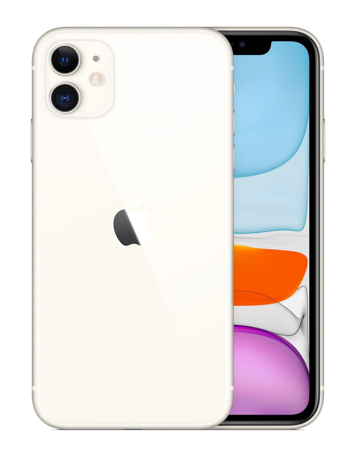 Apple Iphone 11 15 5 Cm 6 1 64 Gb Dual Sim White In 2020