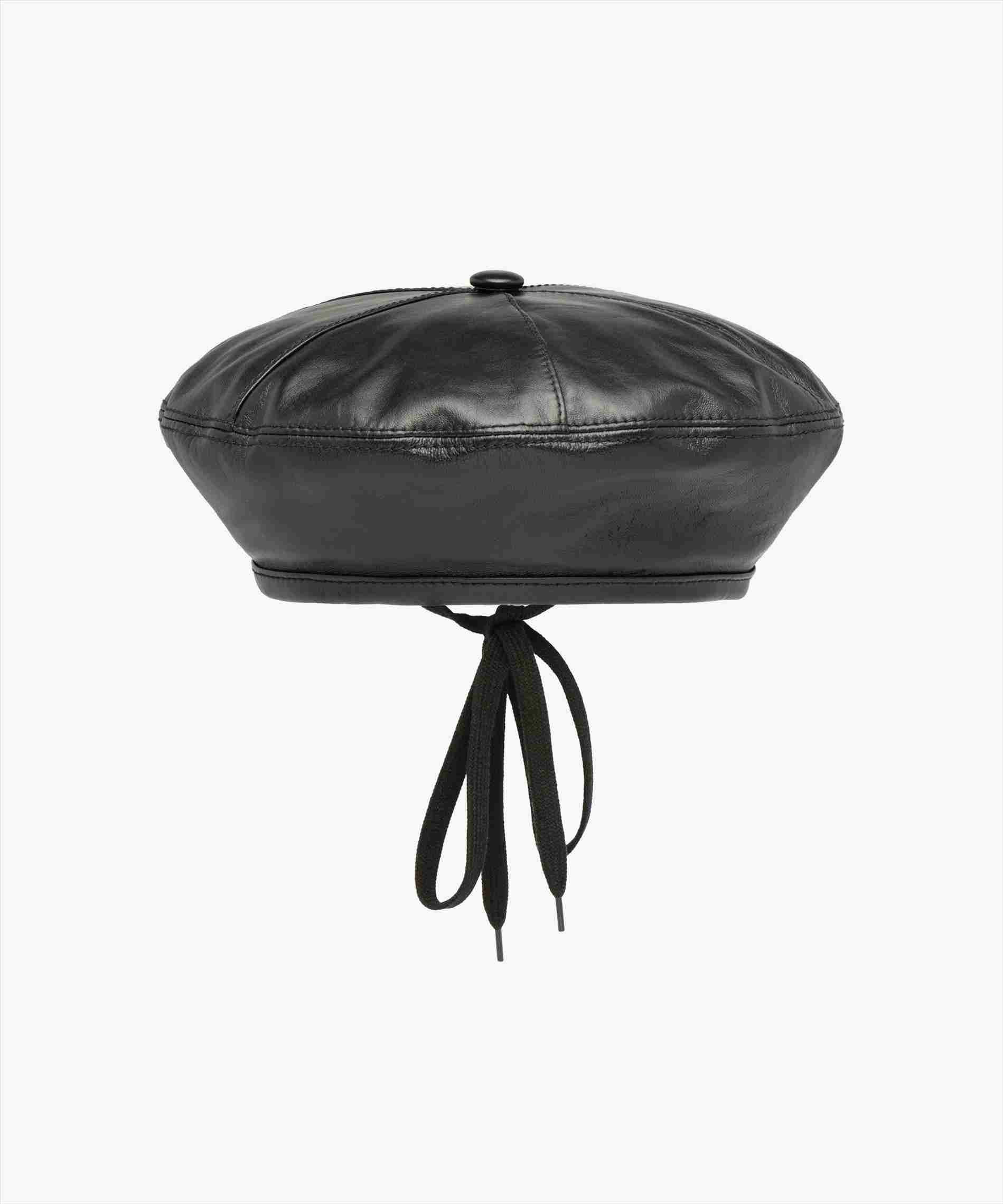 91155d6efb1 Black Beret Hat For Sale - yves saint laurent rive gauche black beret with knit  ball for sale 4. you may purchase up to 4 identical products per order. ...