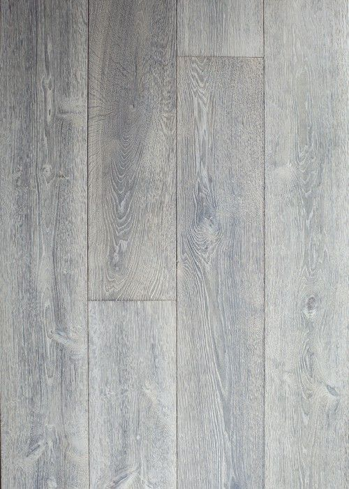 Driftwood Grey Engineered Oak Flooring Living Room In