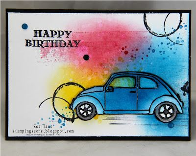 www.zoetant.stampinup.net #malebirthdaycards stampin up beautiful ride - timeless textures - gorgeous grunge #stampinupblog