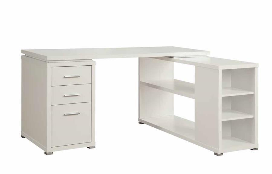Ivette Office Desk White L Shaped Desk L Shaped Office Desk Cheap Office Furniture