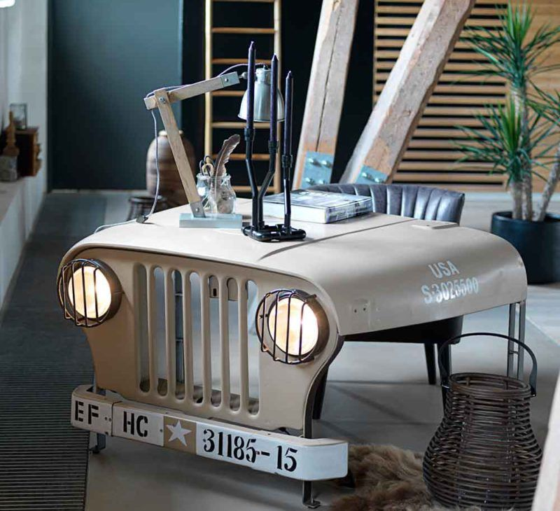schreibtisch crazy jeep home office in 2019. Black Bedroom Furniture Sets. Home Design Ideas