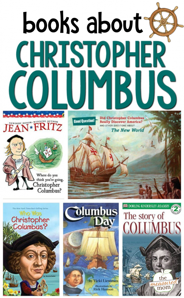 Books About Christopher Columbus The Measured Mom Christopher Columbus Activities Kindergarden Books Books