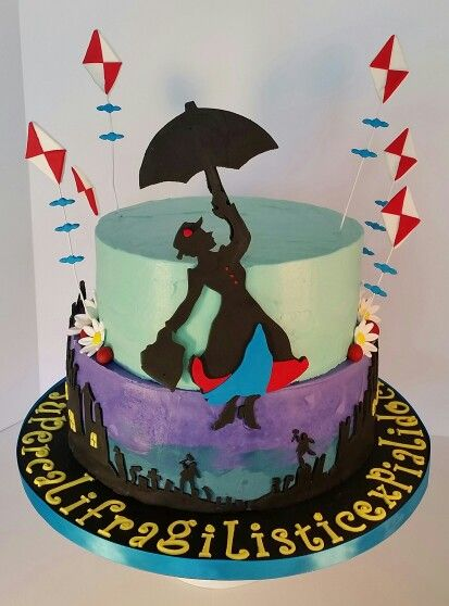 Mary Poppins Cake By S R Sweets Mary Poppins In 2019