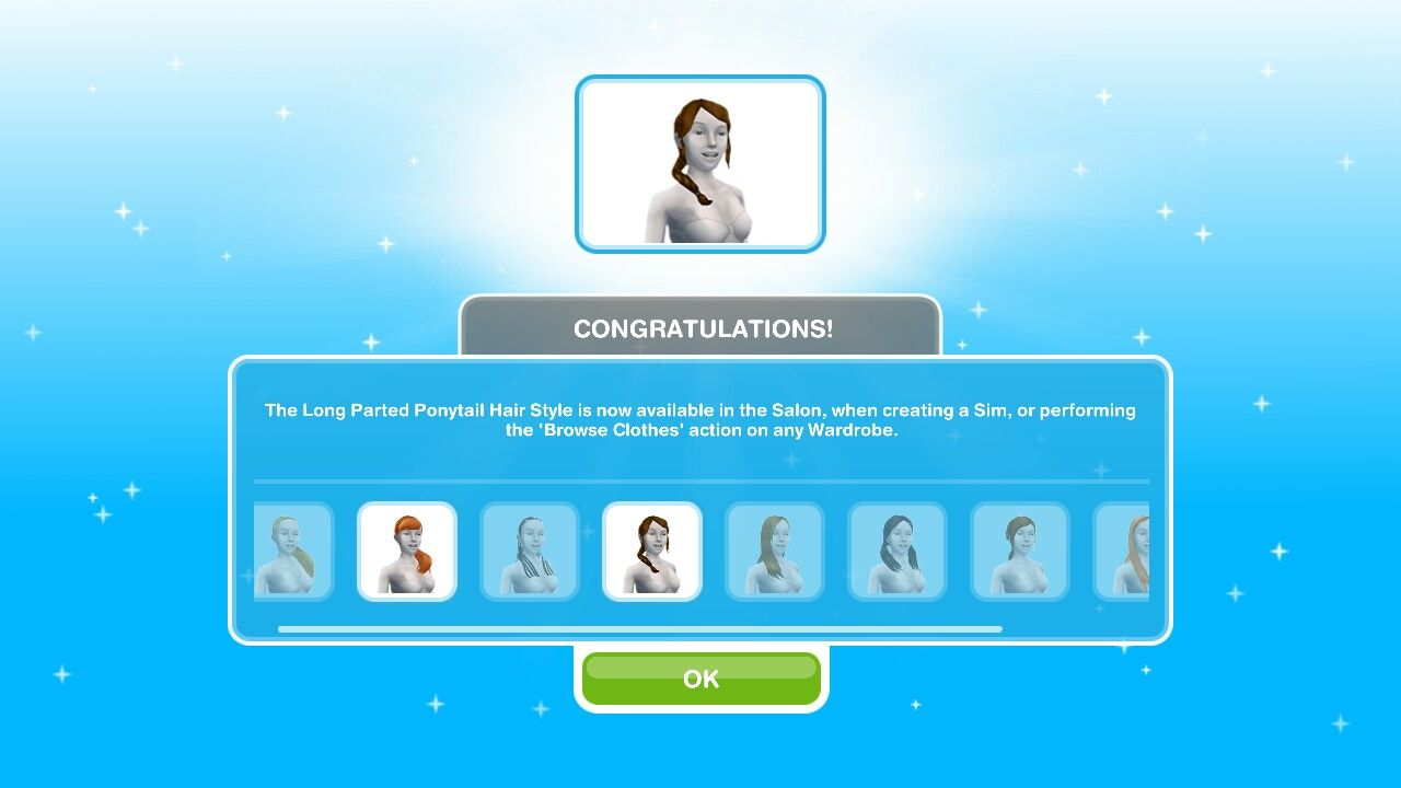 The Simsfreeplay So Far The Hairstyles That I Unlocked Within The Time Limit Lol Better Luck N Sims Free Play Sims Hair Sims