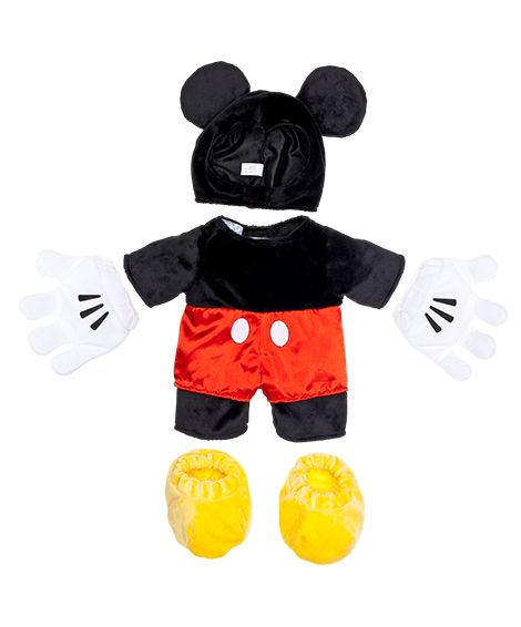 Mickey Mouse Costume 4 pc. | Build-A-Bear Workshop  sc 1 st  Pinterest & Mickey Mouse Costume 4 pc. | Build-A-Bear Workshop | build a bear ...