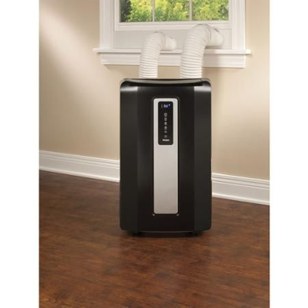 Haier 12000 BTU Portable Air Conditioner, Black - Walmart ...