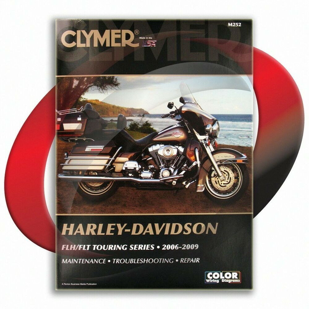 Ebay Sponsored 2006 2009 Harley Davidson Flht Electra Glide Stardand Repair Manual Clymer M252 Harley Davidson Clymer Road King Custom