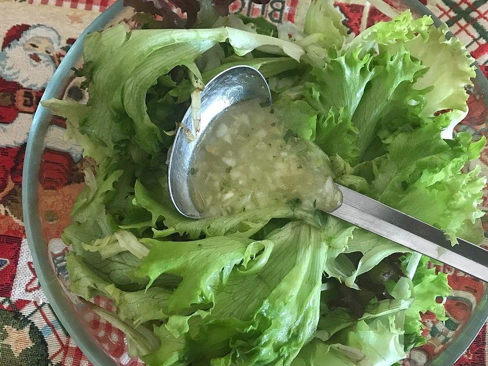 Salat-Dressing für grüne Salate von fraukino | Chefkoch