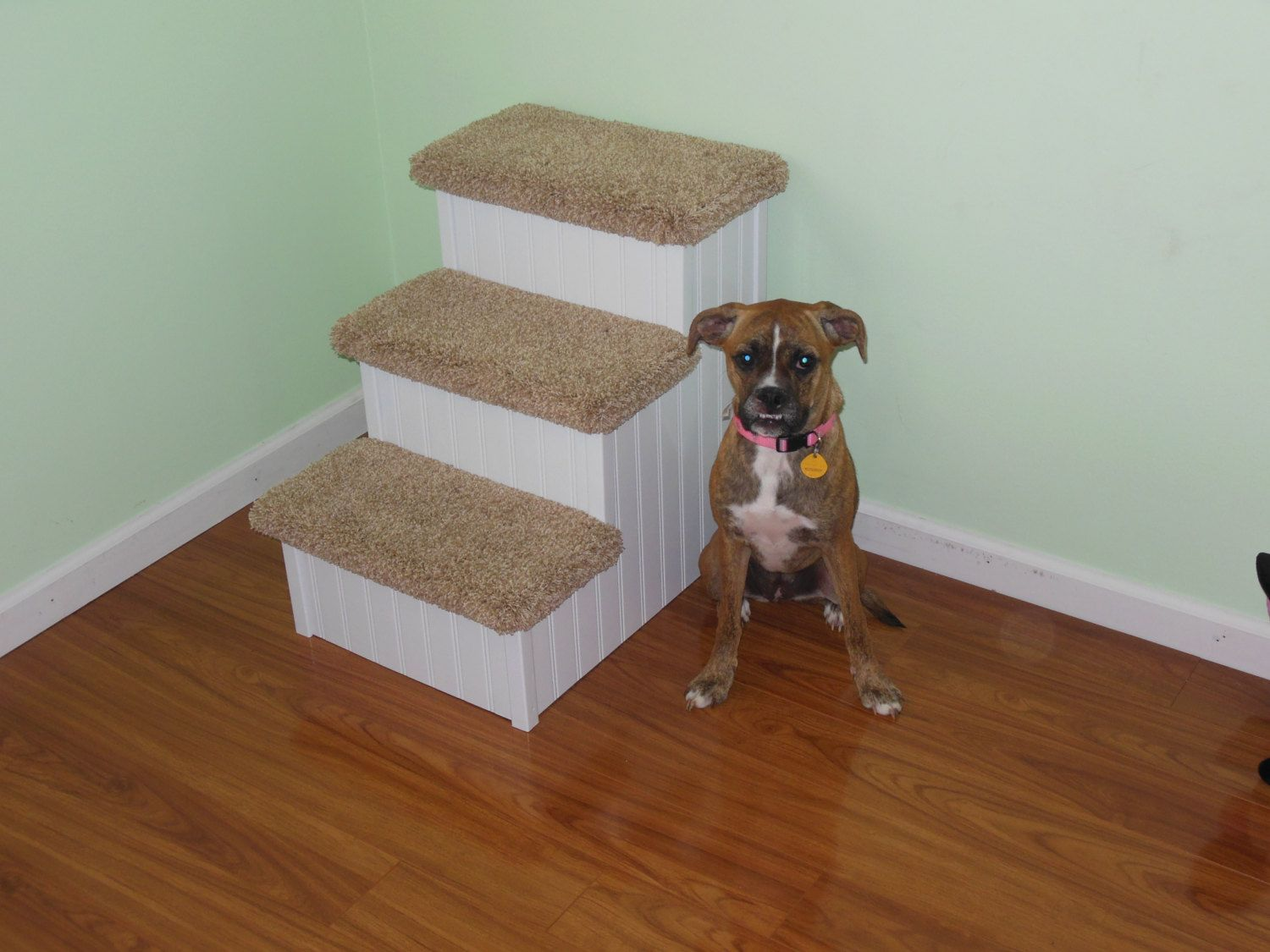 Dog Steps Wood Pet Stairs For Pets 280 lbs Great