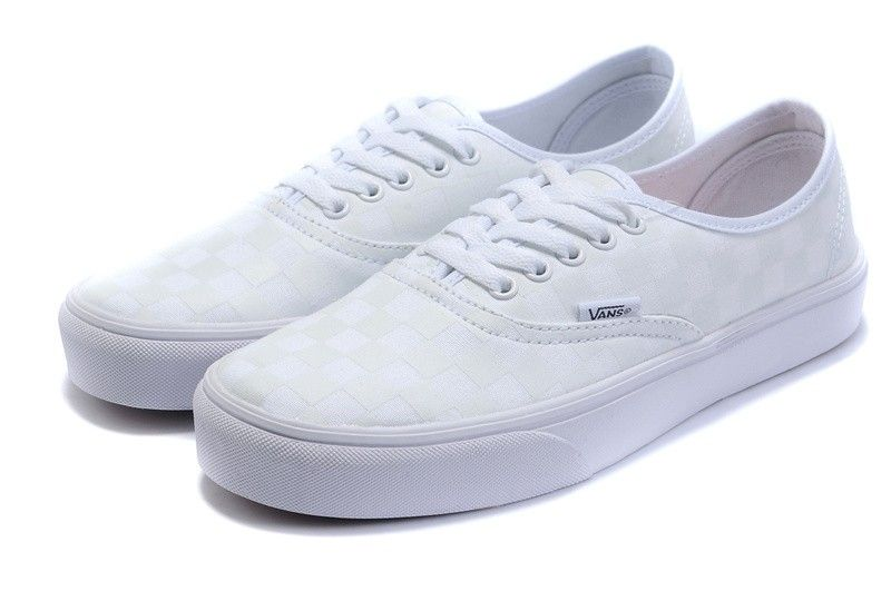 vans trainers white